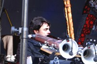 Nyoongarah Spirit, Woodroot Festival 2012, Didgeridoo, Schwaz TV